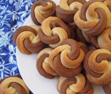 Фото к рецепту: Печенье Цветочки