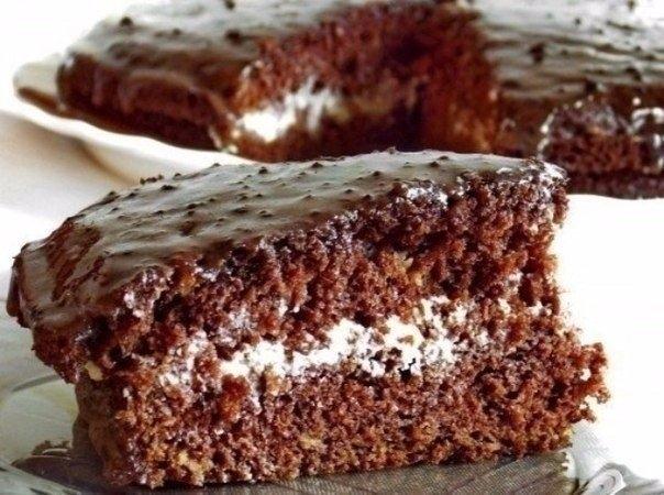 Фото к рецепту: Торт «южная ночь»