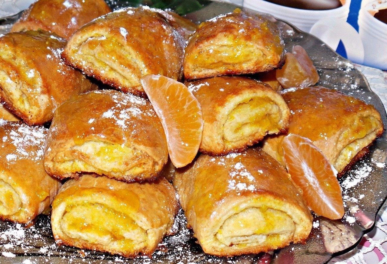 Фото к рецепту: Вкусное,мягкое,ароматное, мягкое апельсиновое печенье