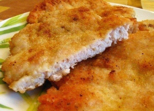 Фото к рецепту: Вкусные отбивные. Блюда из куриного фарша