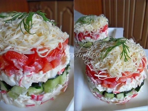 Фото к рецепту: Безумный салат