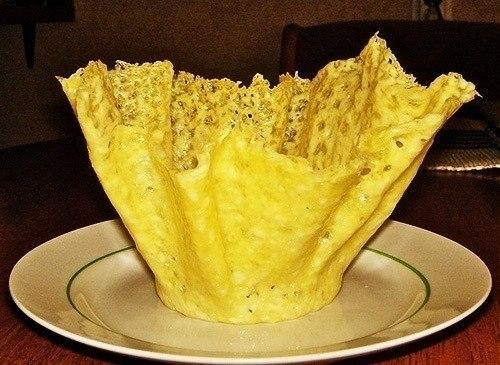 Фото к рецепту: Сырные корзиночки