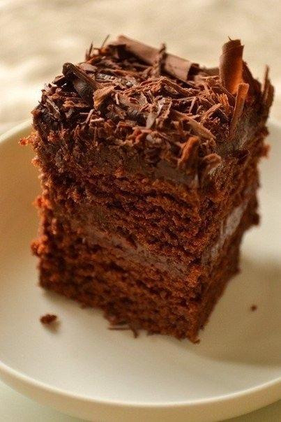 рецепт супер влажный шоколадный торт