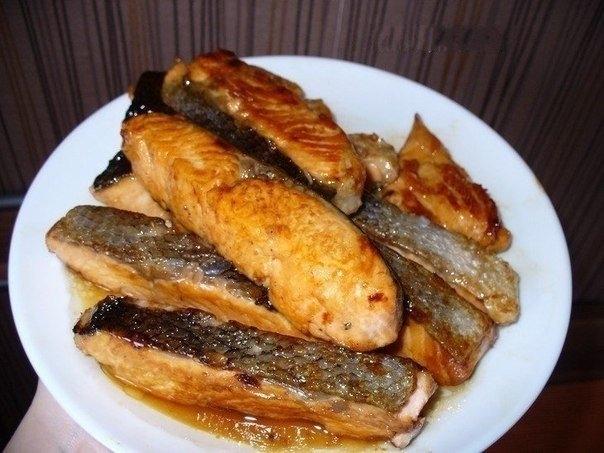 Фото к рецепту: Медовый лосось