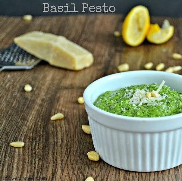 Фото к рецепту: Классический итальянский песто