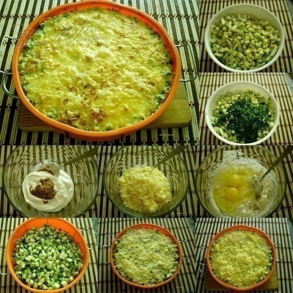 Фото к рецепту: Кабачки, запеченные с сыром - объедение!