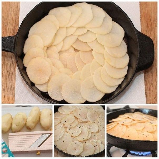 Фото к рецепту: Картофель Анна