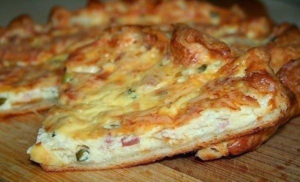 Фото к рецепту: Пирог «Пикантный»