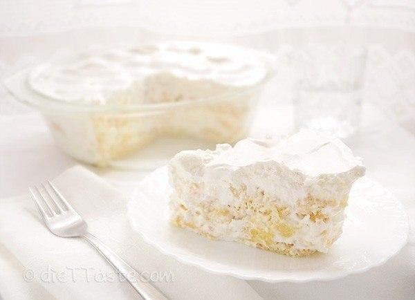 Фото к рецепту: Фруктовый торт а-ля тирамису