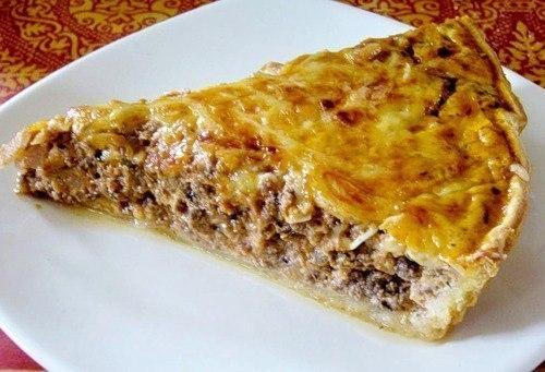 Фото к рецепту: Пирог с мясом