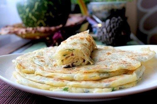Фото к рецепту: Паратха-индийские лепешки