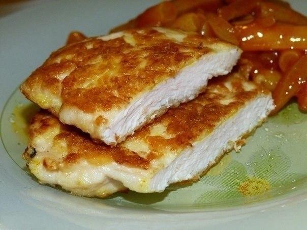 Рецепты приготовления куриного филе в панировочных сухарях