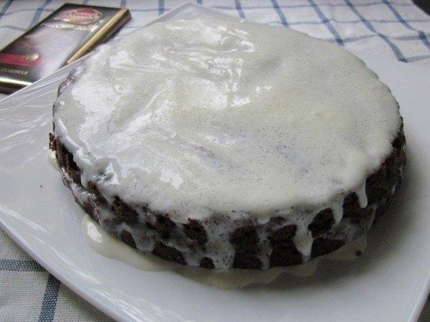 Торт из палочек со сгущенкой фото 3