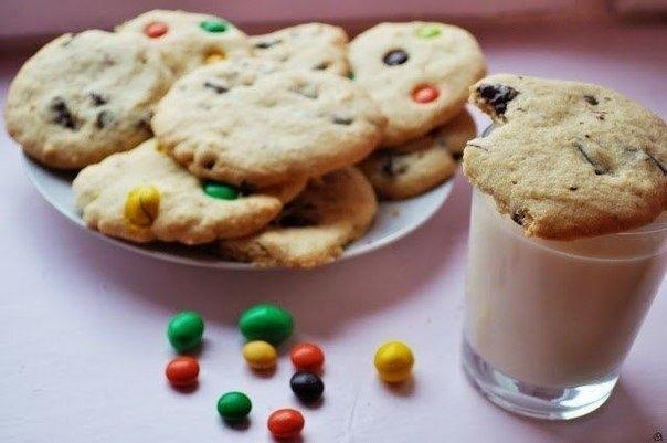 Фото к рецепту: Американское печенье
