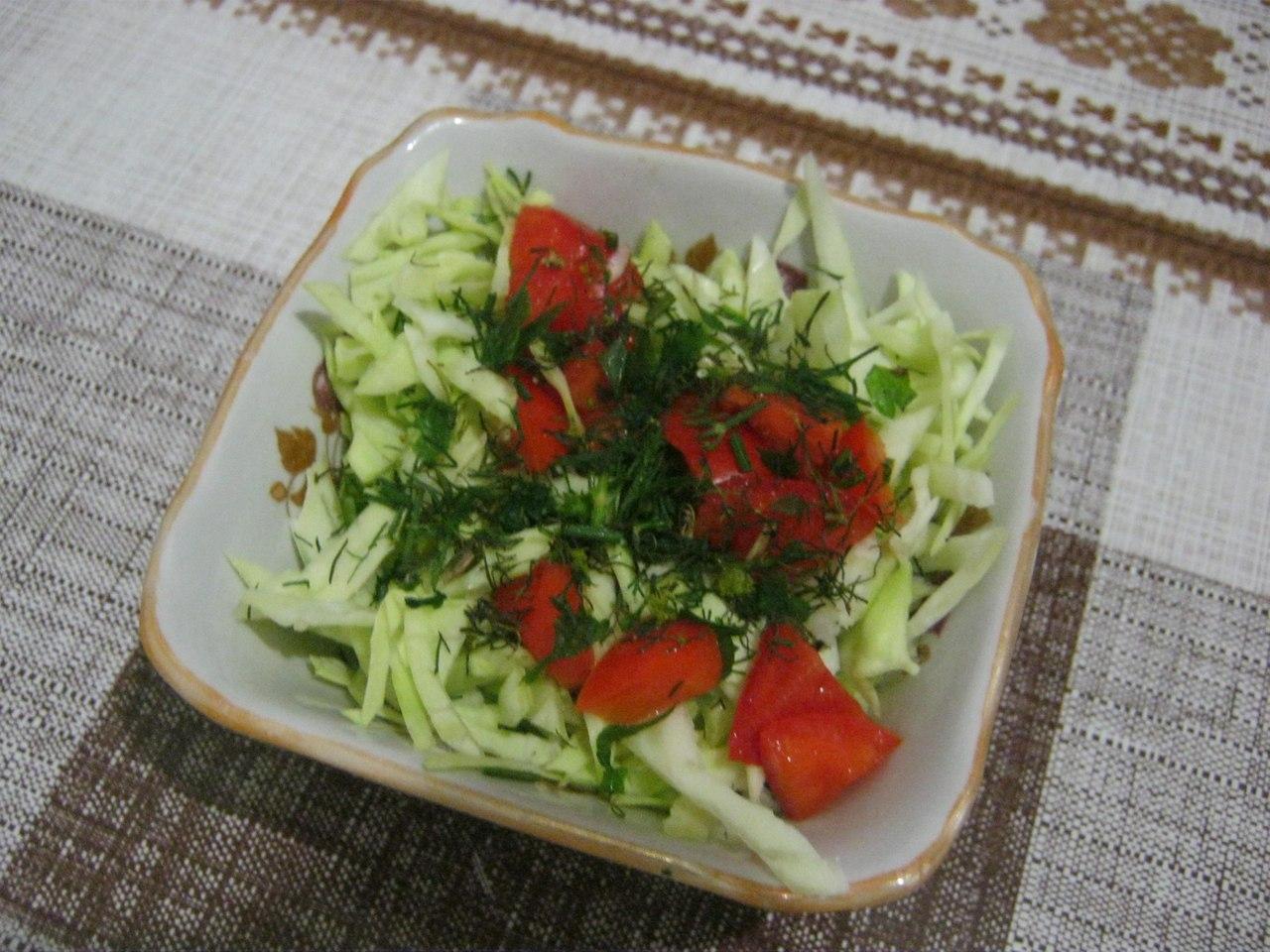 Фото к рецепту: Салат Легкий
