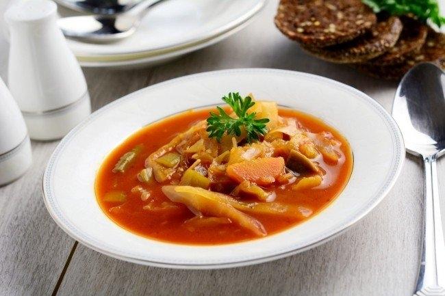Фото к рецепту: Овощной суп для похудения