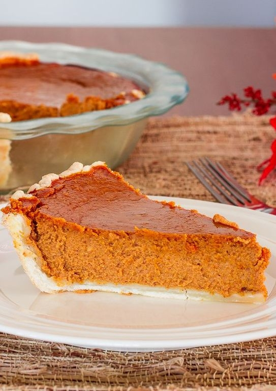 Фото к рецепту: Сезонный тыквенный пирог