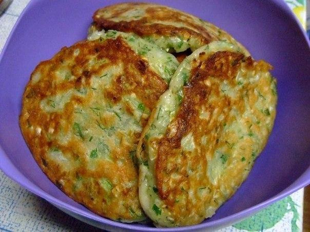 Фото к рецепту: Оладьи капустные