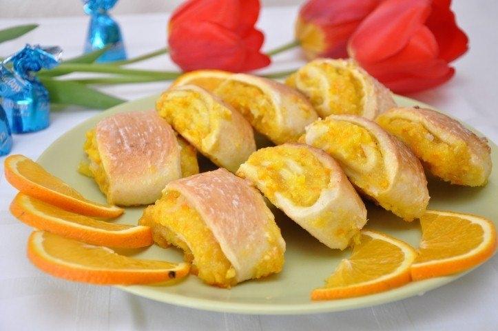 Мягкое апельсиновое печенье рецепт пошагово