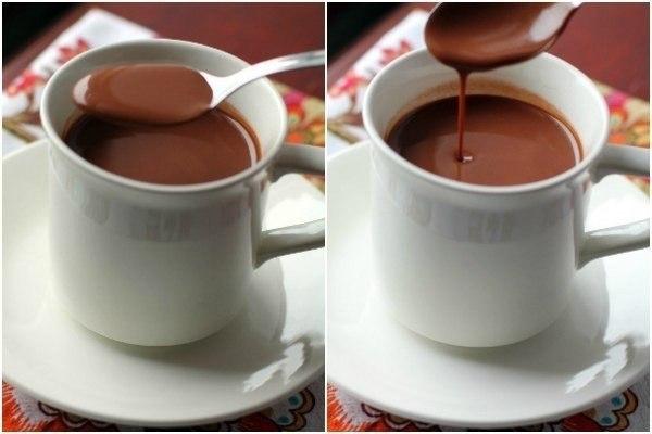 Фото к рецепту: Испанский горячий шоколад.