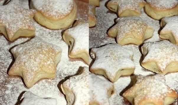 Фото к рецепту: Мягкое сметанное печенье