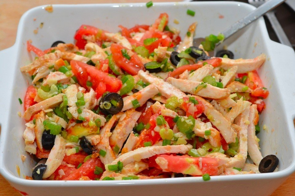 Салат из курицы рецепты с простые