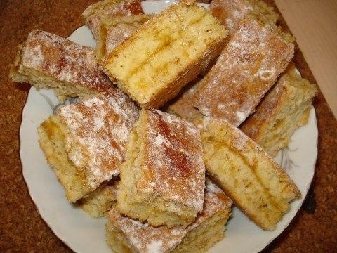 Фото к рецепту: Простое печенье с повидлом