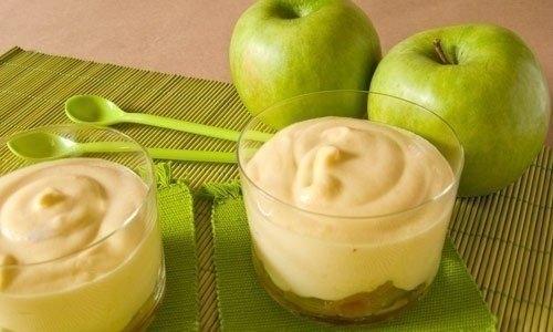 Фото к рецепту: Мусс яблочный