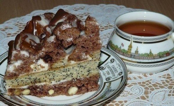 Фото к рецепту: Торт Екатерина