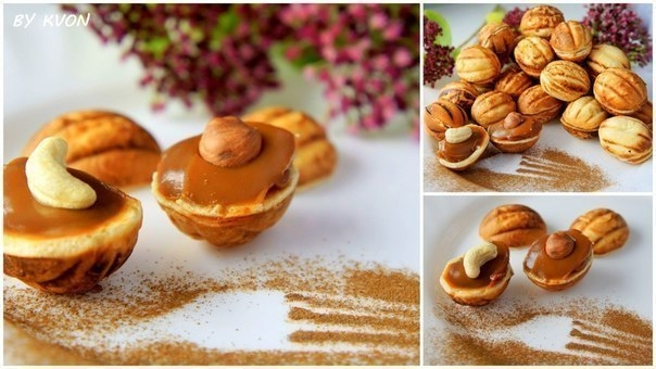 Фото к рецепту: Печенье Орешки