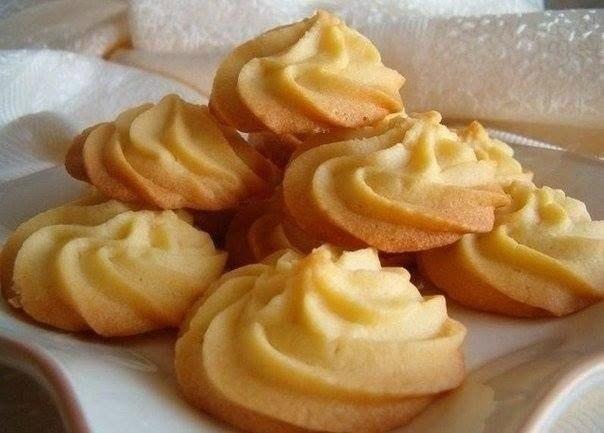Фото к рецепту: Нежное печенье «Тающий момент»