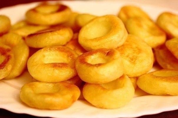Фото к рецепту: Польские картофельные клецки