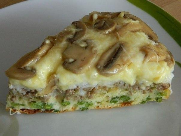 Фото к рецепту: Слоеный пирог - перевертыш