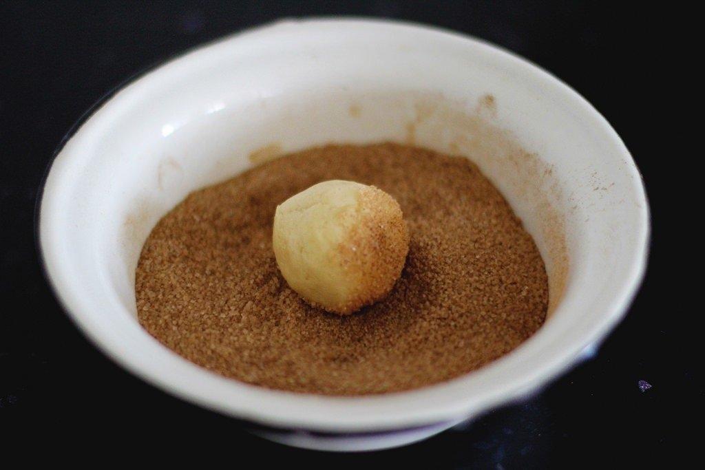 Фото к рецепту: Печенье Snickerdoodle
