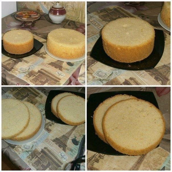 Приготовление пышного бисквита для торта