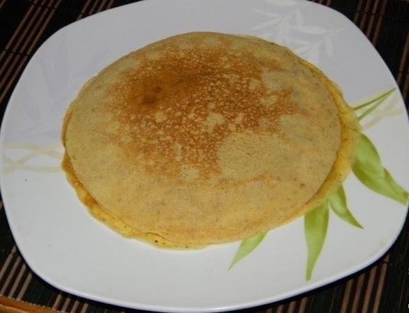 Фото к рецепту: Завтрак в корзинках из блинчиков