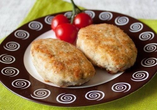 Фото к рецепту: Кабачково-куриные котлеты