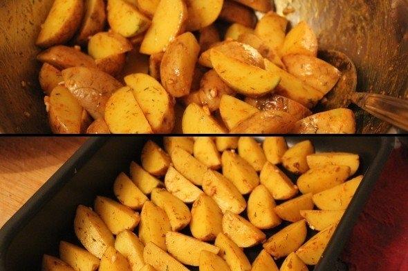картофель айдахо рецепт без духовки