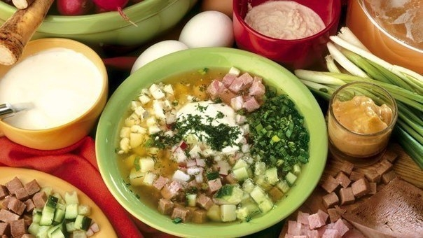 Фото к рецепту: Холодные летние супы: топ 5 рецептов