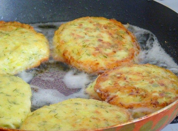 кабачковые оладьи с чесноком в духовке рецепт