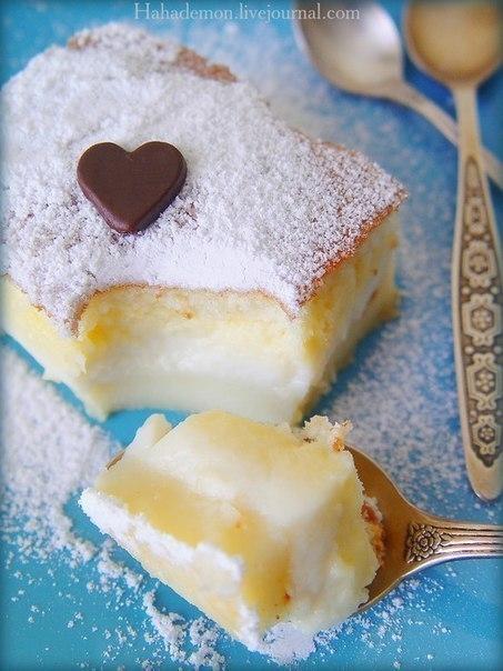 Умное пирожное | Рецепт бисквитного пирожного с фото ...