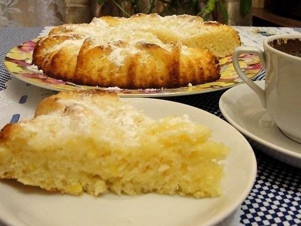 Фото к рецепту: Манник лимонный
