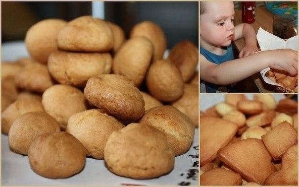 Фото к рецепту: Бисквитное печенье для малышей