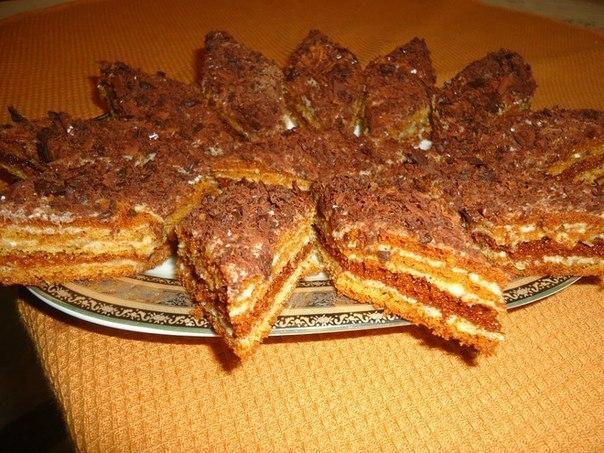 Фото к рецепту: Торт Мужской идеал