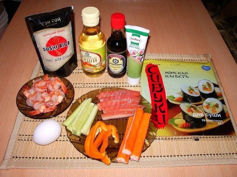 Как сделать роллы в домашних условиях рецепты