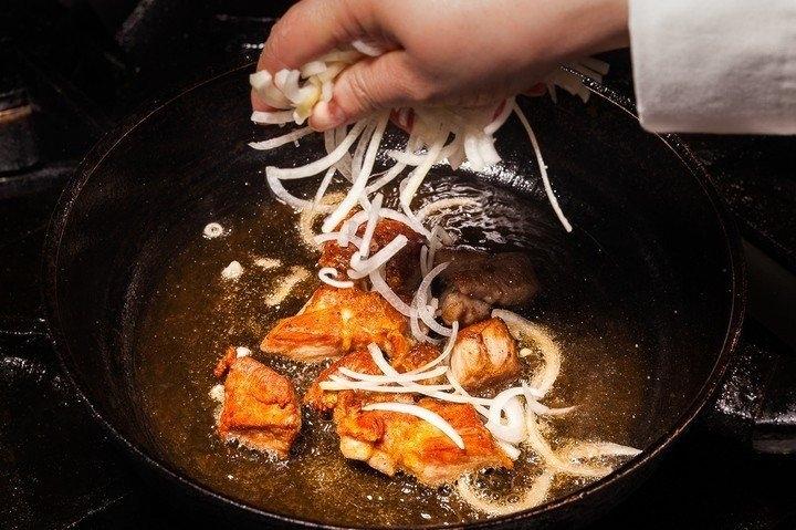 Как жарить вкусную картошку фото