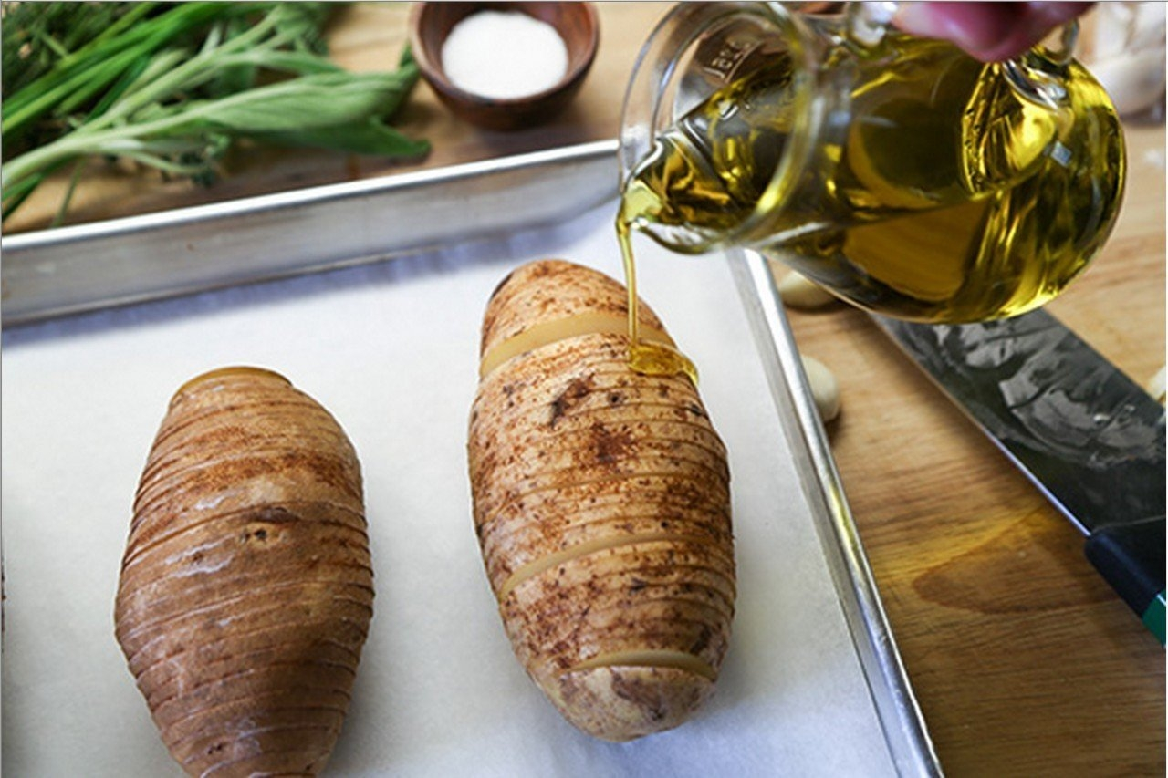 Картошка аккордеон рецепт