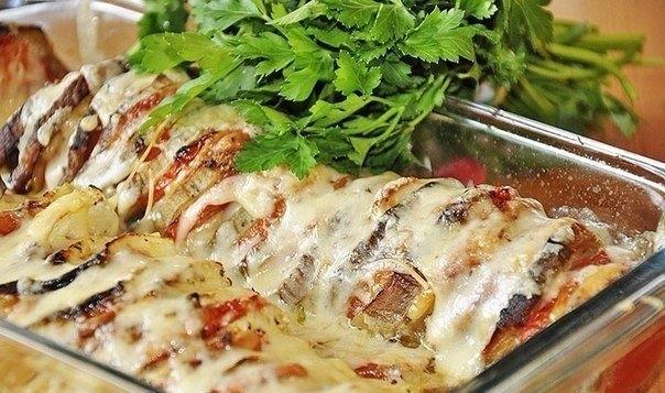 Фото к рецепту: Овощи по-провански