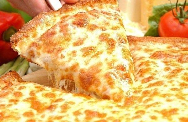 Фото к рецепту: Пышная пицца