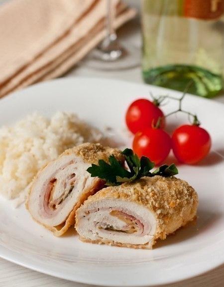 Фото к рецепту: Куриное филе Le Cordon Bleu